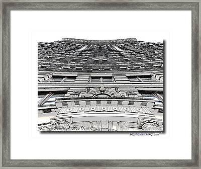 Flat Iron Building  II Framed Print by Frank Garciarubio