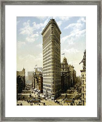 Flat Iron Building New York 1903 Framed Print by Unknown
