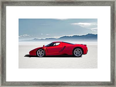 Flat Out  Framed Print by Douglas Pittman