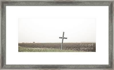Flat-out Faith Framed Print