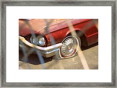 Flat Tired Framed Print by Valentino Visentini