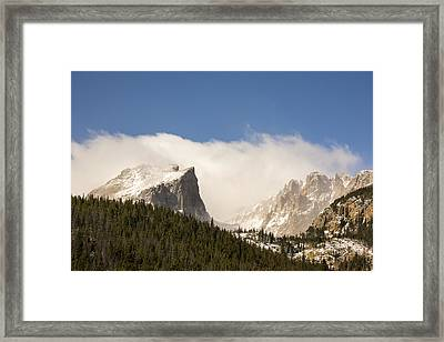 Flat Top Mountain - Rocky Mountain National Park Estes Park Colorado Framed Print