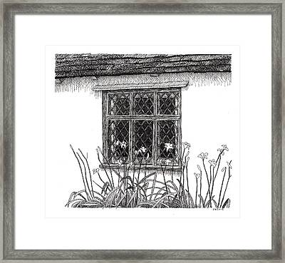 Flatford Mill Framed Print