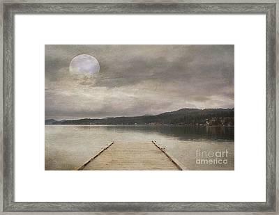 Flathead Lake Framed Print by Juli Scalzi