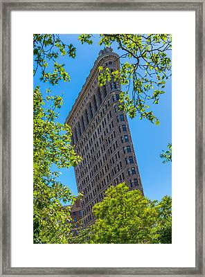 Framed Print featuring the photograph Flatiron Building by Chris McKenna