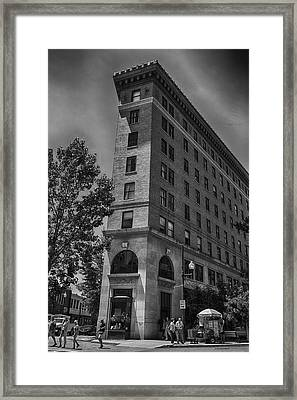 Vacancy Claustrophobic Need Not Apply Framed Print