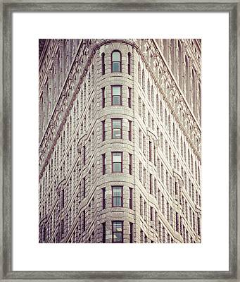 Flatiron Building Framed Print by Takeshi Okada