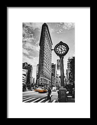Taxi Framed Prints
