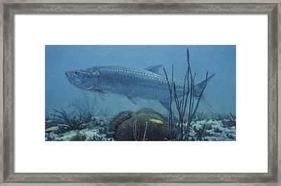 Flats Hunter Framed Print by Randall Scott