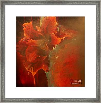 Flava Framed Print by Lin Petershagen