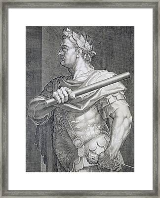 Flavius Domitian Framed Print by Titian