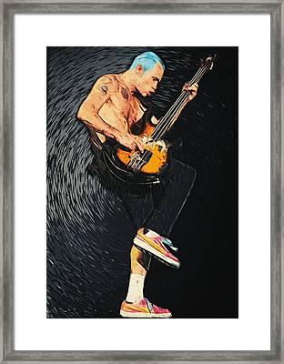 Flea Framed Print by Taylan Apukovska