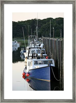 Fleet At Rest Framed Print