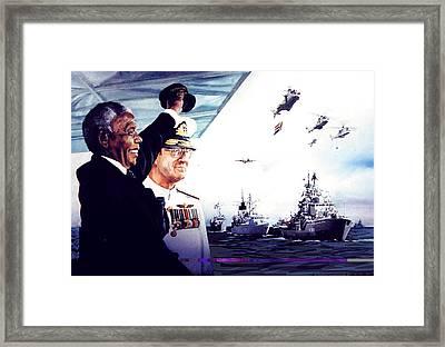 Fleet Review Framed Print
