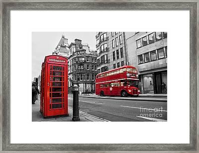 Fleet Street London Framed Print