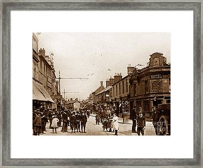Fleet Street Swindon England Framed Print