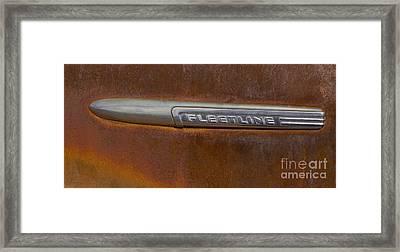 Fleetline   #0973 Framed Print by J L Woody Wooden