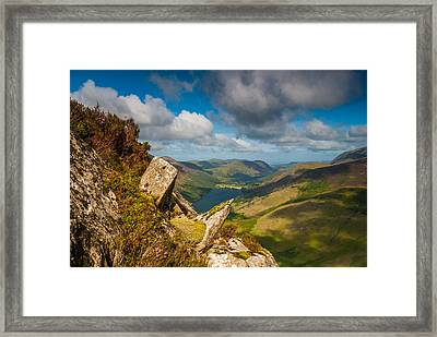 Fleetwith Pike Lake District Framed Print by David Ross