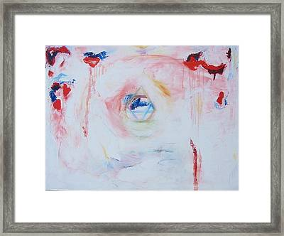 Flesh Of My Heart Framed Print