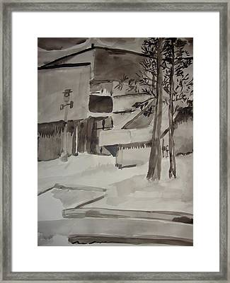 Fletcher Hall Framed Print by Charlene Leger