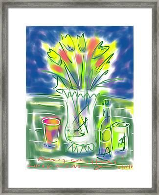 Fleur Noel Framed Print