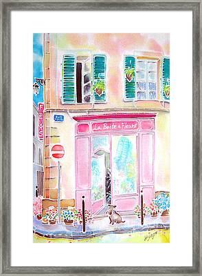 Fleuriste Framed Print