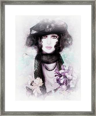 Fleuriste Framed Print by Shanina Conway