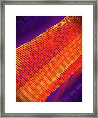 Flexible Metamaterial Framed Print