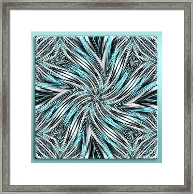Flexible Thinking - Abstract Art By Giada Rossi Framed Print by Giada Rossi