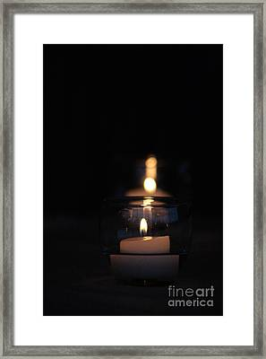 Flicker Framed Print by Barbara Bardzik