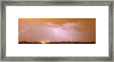 Flicker II Framed Print by Augustina Trejo