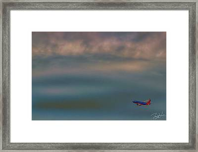 Flight 709 Framed Print