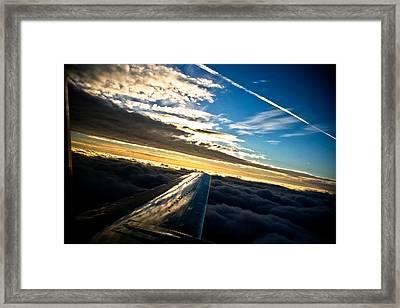 Flight 777 Framed Print