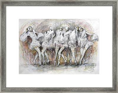 Flight Dancers Framed Print by Gregory DeGroat