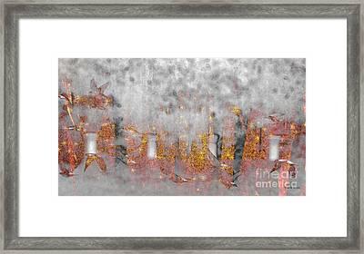 Flight From Destruction Framed Print by Darla Wood
