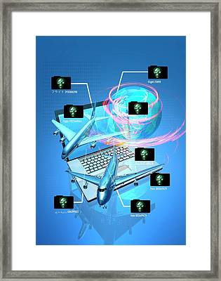Flight Hacking Framed Print by Victor Habbick Visions