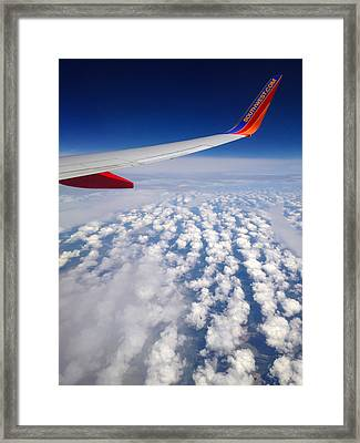 Flight Home Framed Print by Debra Martz