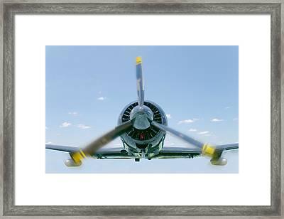 Flight In Color Framed Print