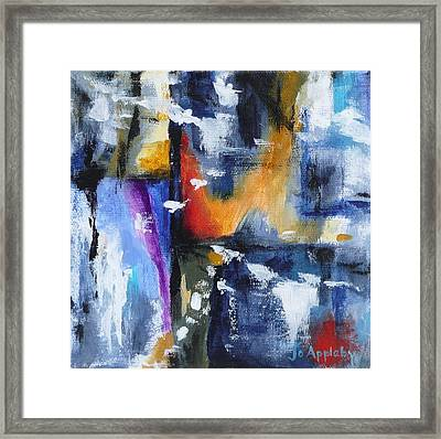 Framed Print featuring the painting Flight by Jo Appleby