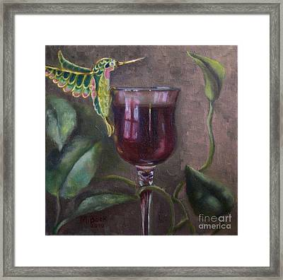 Flight Of Fancy Framed Print by Marlene Book