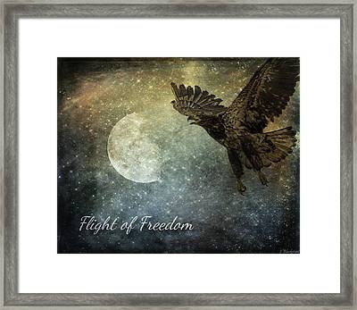 Flight Of Freedom - Image Art Framed Print