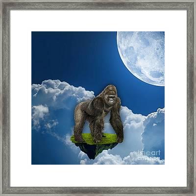 Flight Of The Ape Framed Print