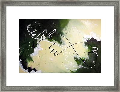 Flight Of The Bumble Bee Framed Print by Mary Kay Holladay