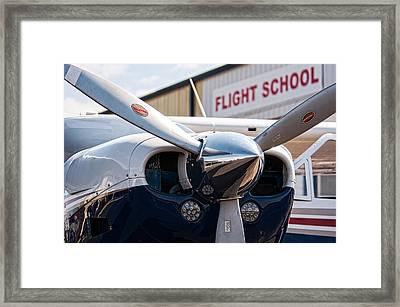 Flight School Framed Print