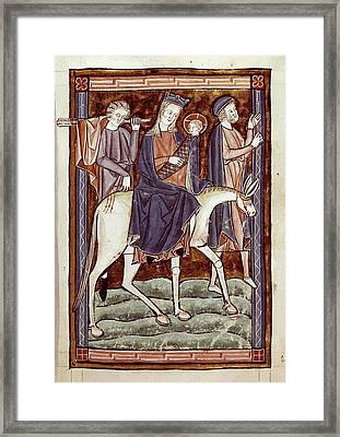 Flight To Egypt, Episode From The New Framed Print by Everett