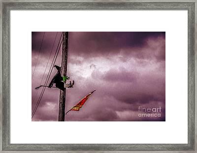 Flight Training Framed Print by Arne Hansen