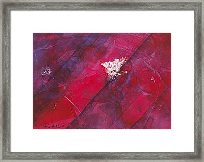 Flightful Intensity Framed Print