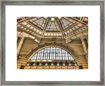 Flinders Dome Framed Print by Shari Mattox