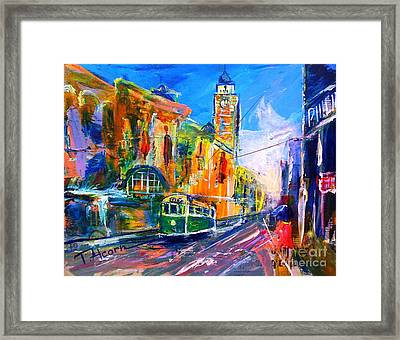 Flinders Street - Original Sold Framed Print