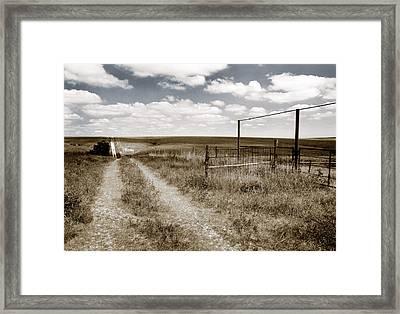 Flint Hills Country Framed Print